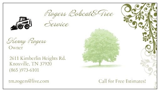 Rogers Bobcat And Tree Services Reviews Knoxville Tn