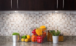 $999 for a New Ceramic Tile Backsplash, Including Labor