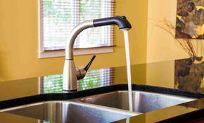 $199 for a Kitchen or Bathroom Faucet Installation