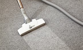 $119 for 3 Rooms of Carpet Cleaning PLUS Chair & Ottoman Upholstery Cleaning!