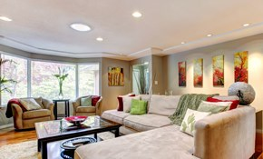 $495 for 4 New Recessed Lights with a Dimmer Switch Installed