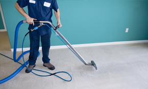 $79 Carpet Cleaning, Deodorizing, and Protection for 2 Rooms