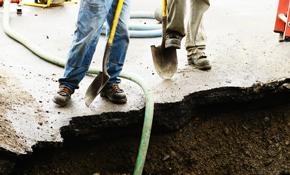 $355 Permanent Crack Repair for Foundation & Crawlspace