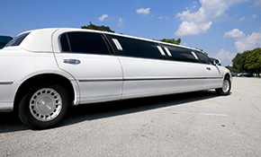 $203 for 3 Hours of Chauffeured Limousine Services for Up to 7 Passengers
