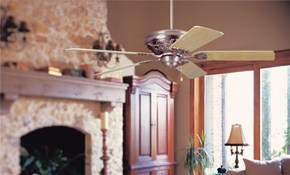 Only $99 for Ceiling Fan or Light Fixture Installation!