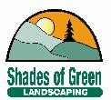 SHADES OF GREEN LANDSCAPING logo