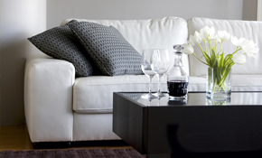 $129.50 for Cleaning of a Sofa and Loveseat