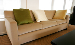 $725 for Re-Upholstery of Standard Couch with 3 Seat Cushions