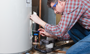 $1,350 For A New Whirlpool 40 Gallon Gas Water Heater With Standard Vent