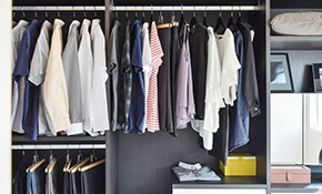 $450 for $500 Worth of Custom Closets