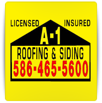 A-1 ROOFING & SIDING logo