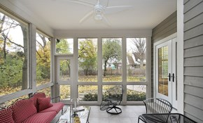 $12,300 for a Three Season Betterview Sunroom