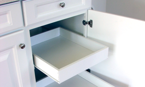 $750 for $1,000 Worth of Kitchen or Bathroom Cabinetry