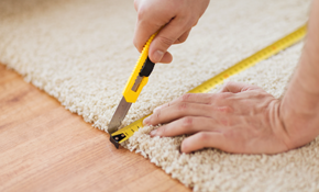$1,495 for 500 Square Feet of Carpet Including Padding and Installation