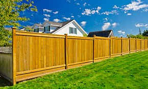 $50 for $100 Credit Toward New Fencing