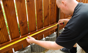 $100 for $250 Credit Toward Installation of a Cedar Fence