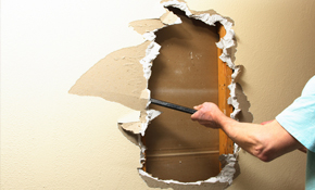 Replace up to 4 Square Feet of Drywall With Trowel Texture!