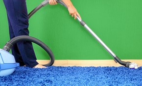 $175 Carpet Cleaning for Four Rooms and a Hallway