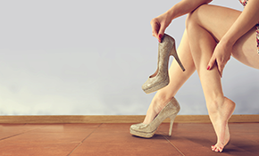 $299 for 1 Pair Custom-Made ezWalker®; Performance Fashion or Dress Shoe Orthotics