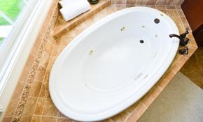 $549 Bathtub Refinishing with Non-Slip Surface