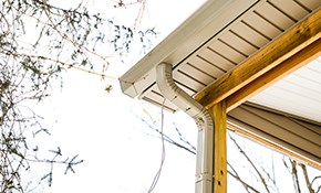 $1,350 for 180 Feet of New Seamless Gutters and Downspouts Installed
