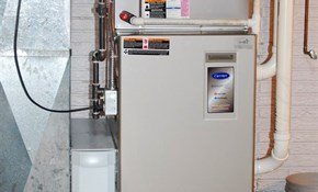 $2,545 for a New Gas Furnace Installation