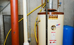 $150 for Labor for Water Heater Installation-Power Vent Propane