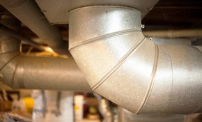 $405 for Complete Air Duct Cleaning Of A Single Furnace Home