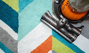 $150 Carpet Cleaning for 3 Bedrooms, a Hallway, & a Flight of Stairs