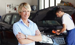 $100 for $250 worth of Auto Services, PLUS FREE Alignment Check of Vehicle!