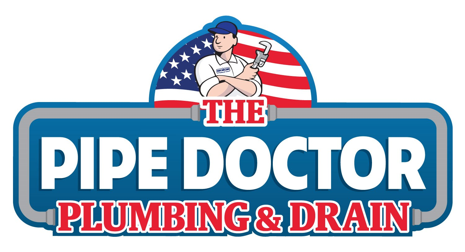The Pipe Doctor Plumbing Service logo