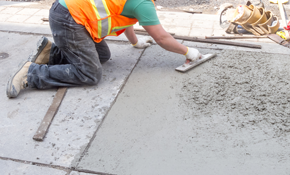 $2,160 for 500 Square Feet of Stamped Concrete Restoration