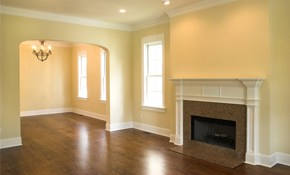 $109 for complete hardwood cleaning-- including Buff and Coat!