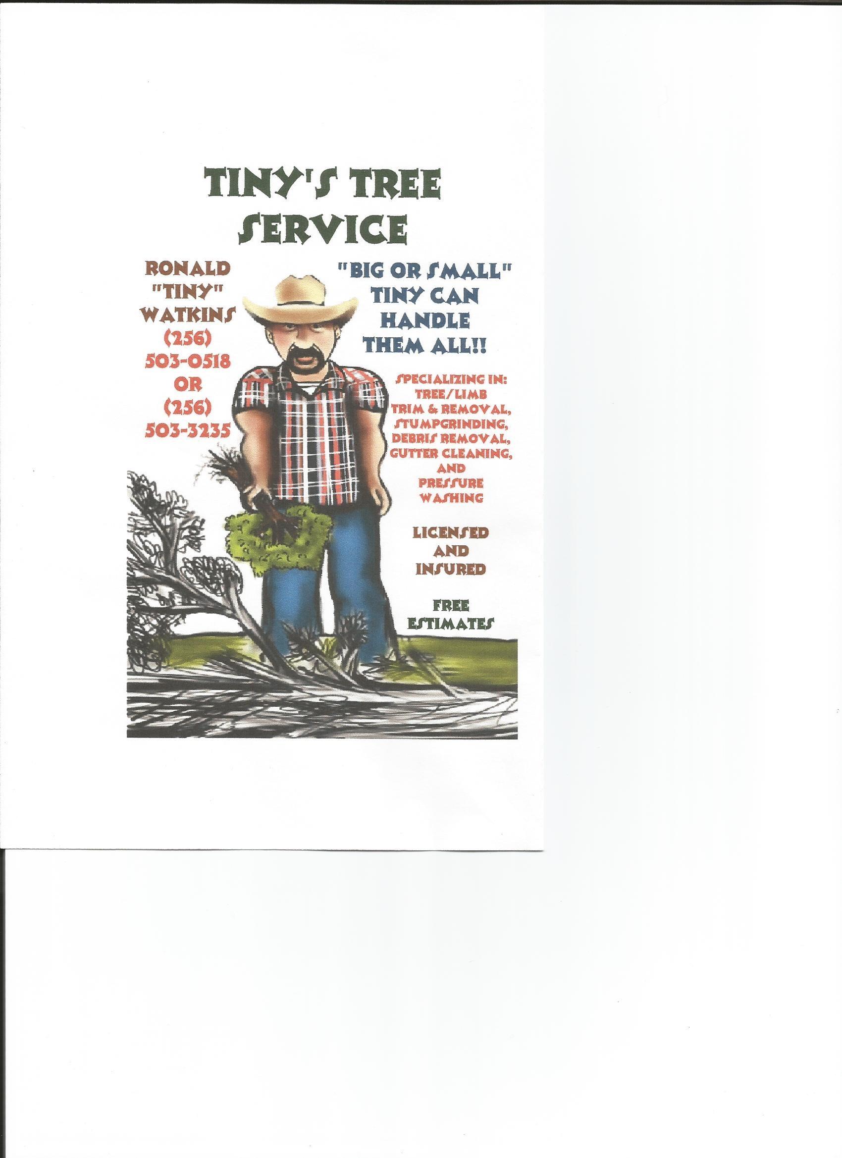 Tiny's Tree Service logo