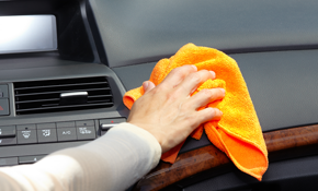 $198 for In & Out Auto Detailing with Paint Sealer & Engine Bay