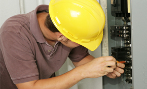 $1,759 for a 100-amp Electrical Panel Replacement and Surge Protection