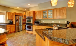$99 for Kitchen Cabinet Color Refinishing Consultation Plus $400 Credit Toward Project