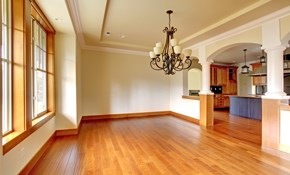 $158 for 100 Square Feet of Hardwood Floor Sanding and Refinishing
