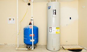 $899 for a 40-Gallon Gas Water Heater Installed