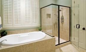 $99 for $300 Toward a New Shower Door