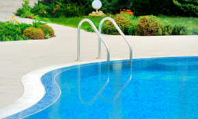 $1,200 for Annual Pool Service Agreement