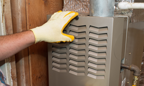 $2,100 for a New Ruud 3-Ton Gas Furnace Installed