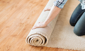 $599 for 350 Square Feet of Carpet with Padding and Installation