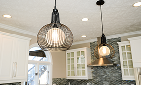 $625 for Eight New, 6-Inch LED Recessed Lights with a LED Dimmer