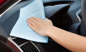 $84 for Interior Auto Detailing and Exterior Hand-Washing