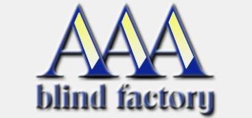 AAA BLIND FACTORY logo