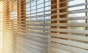 $1,875 for $2,000 Credit Towards Hunter Douglas Window Treatments