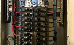 $2,325 for both an Indoor and Outdoor Main Breaker Panel Replacement