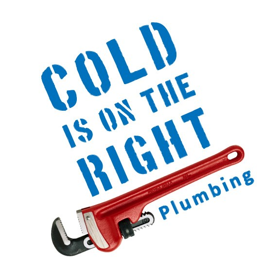 Cold is on the Right Plumbing logo