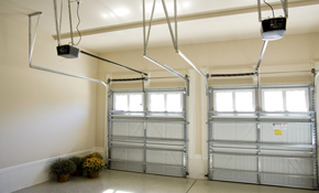 $45 for a Garage Door Service Call PLUS 10% OFF any Parts!
